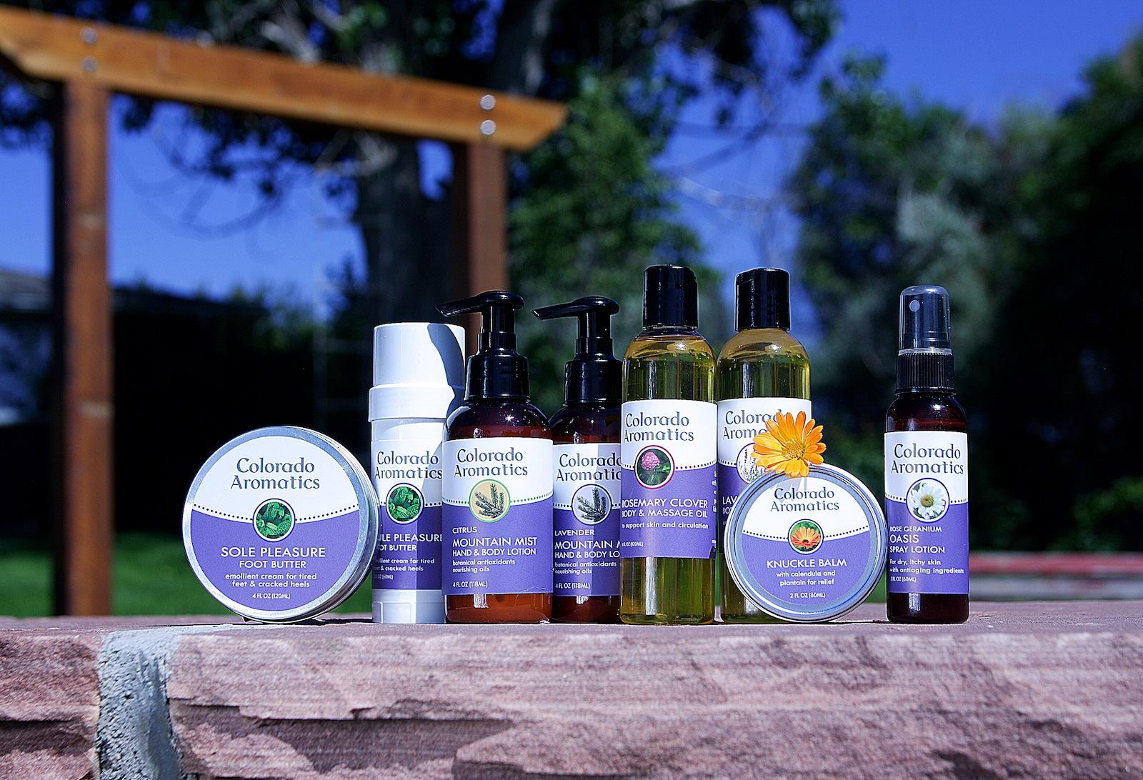 Image of Colorado Aromatics body products