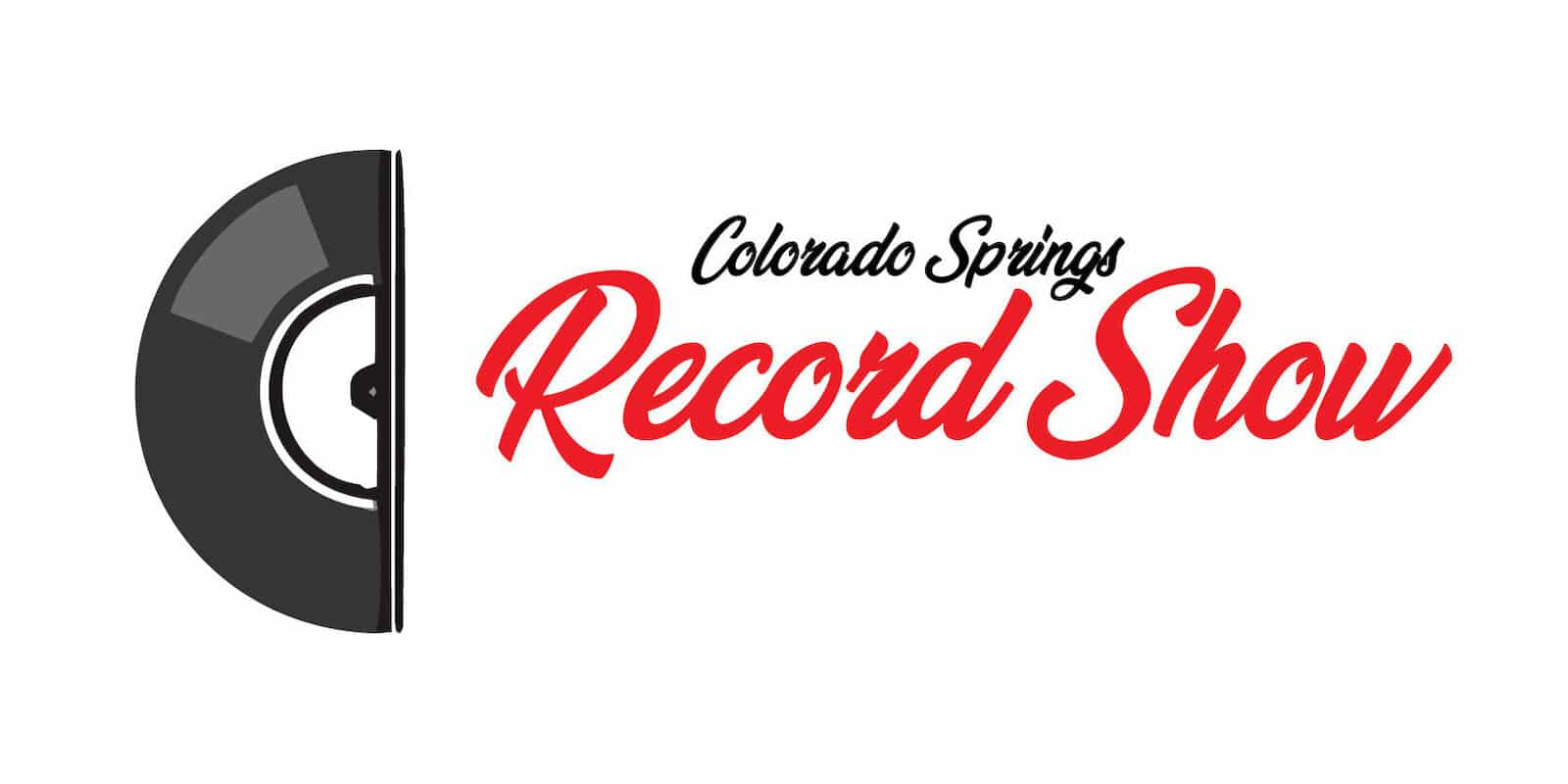 Image of the Colorado Springs Record Show flyer