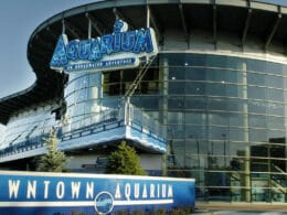 Image of the Downtown Aquarium in Denver, Colorado