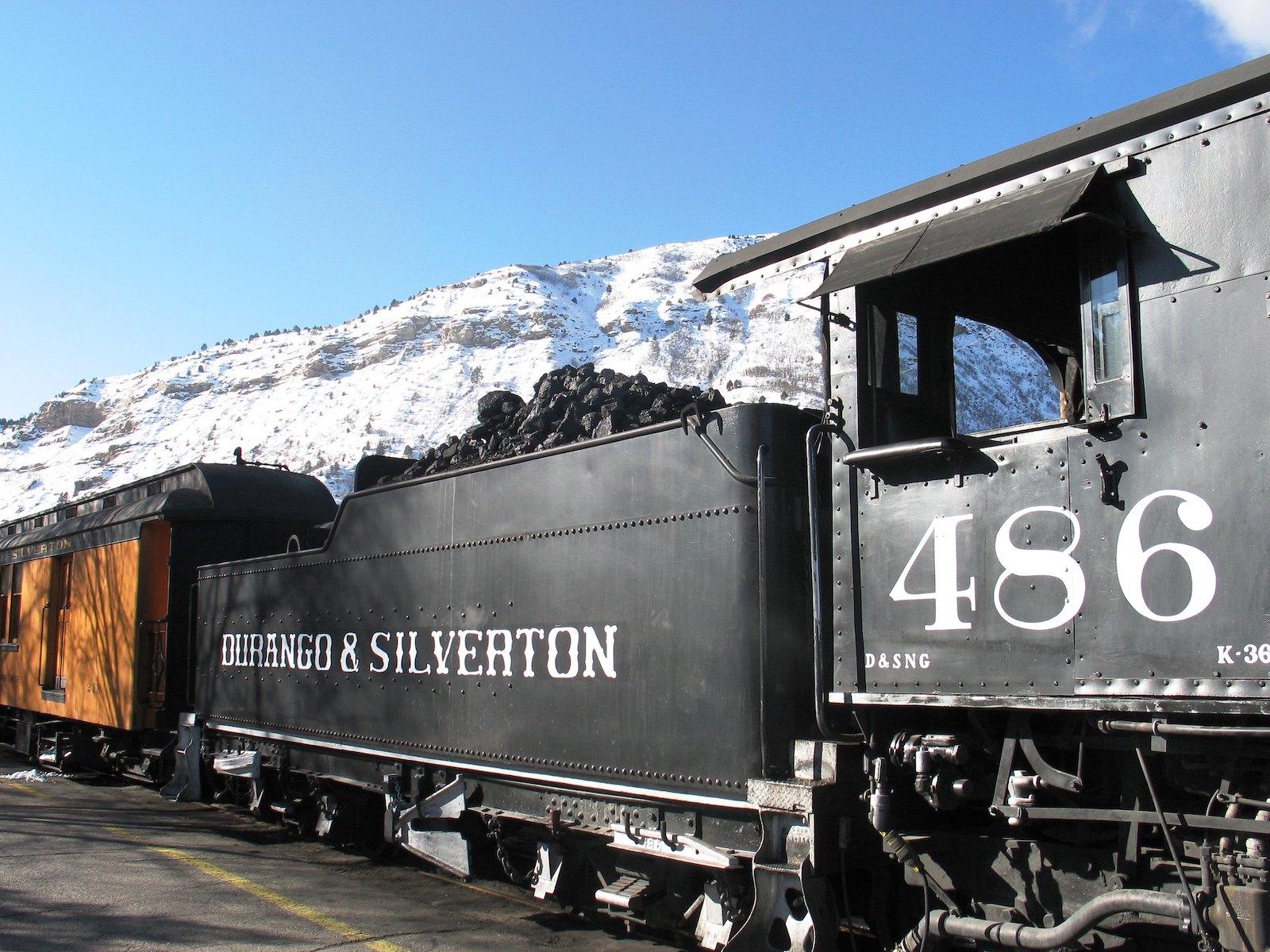 Image of the Durango Silverton Train in Colorado