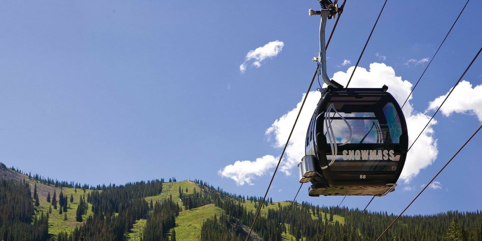 Image of the Elk Camp Gondola at Snowmass in Colorado