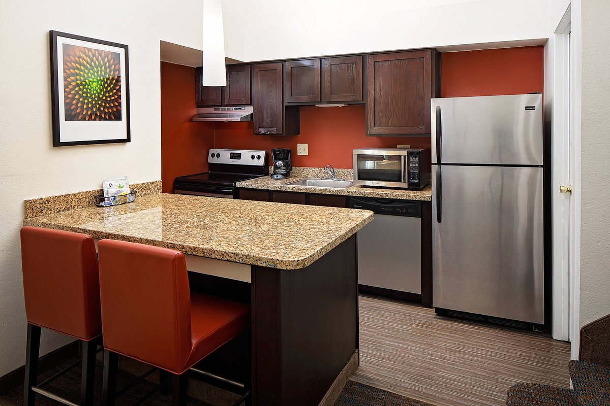 kitchen suites at residence inn in greenwood village