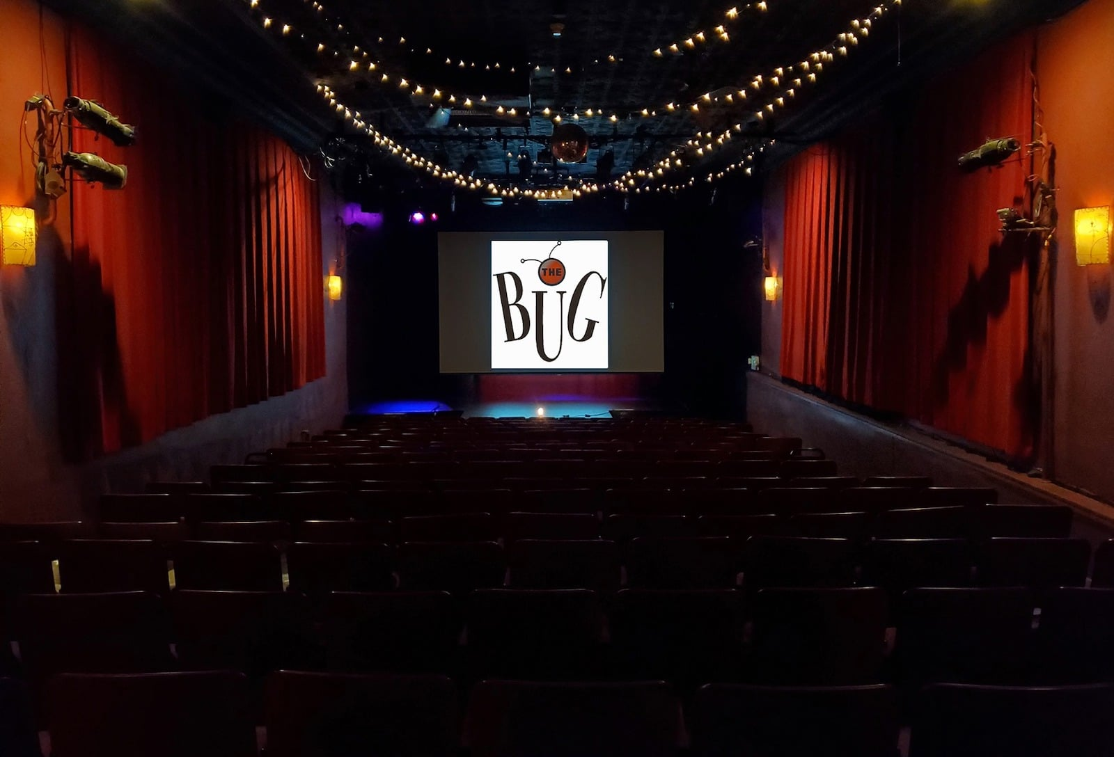 Image of the inside of The Bug Theatre in Denver, Colorado