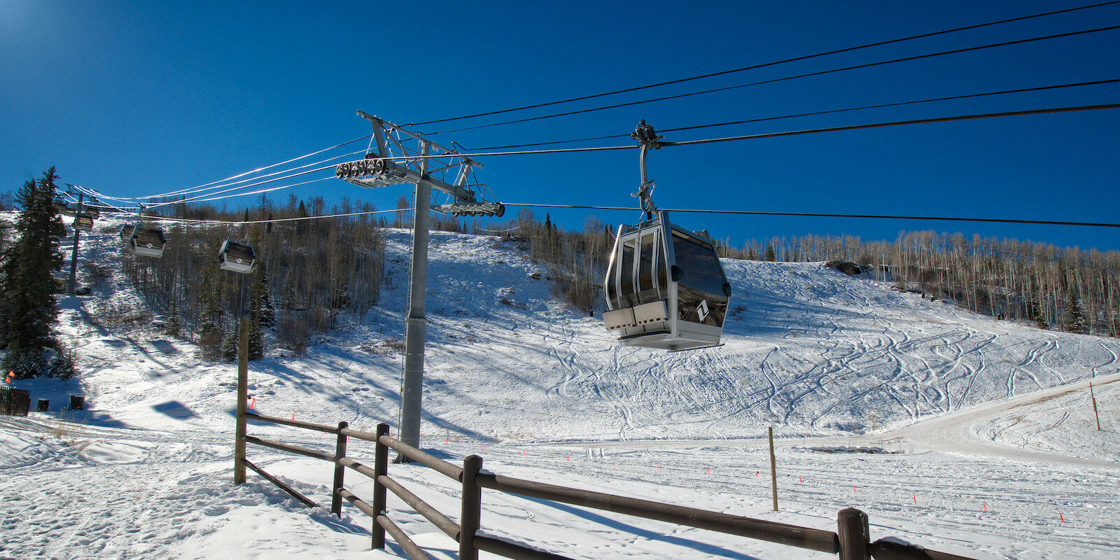 Image of the One Gondola in Vail, Colorado