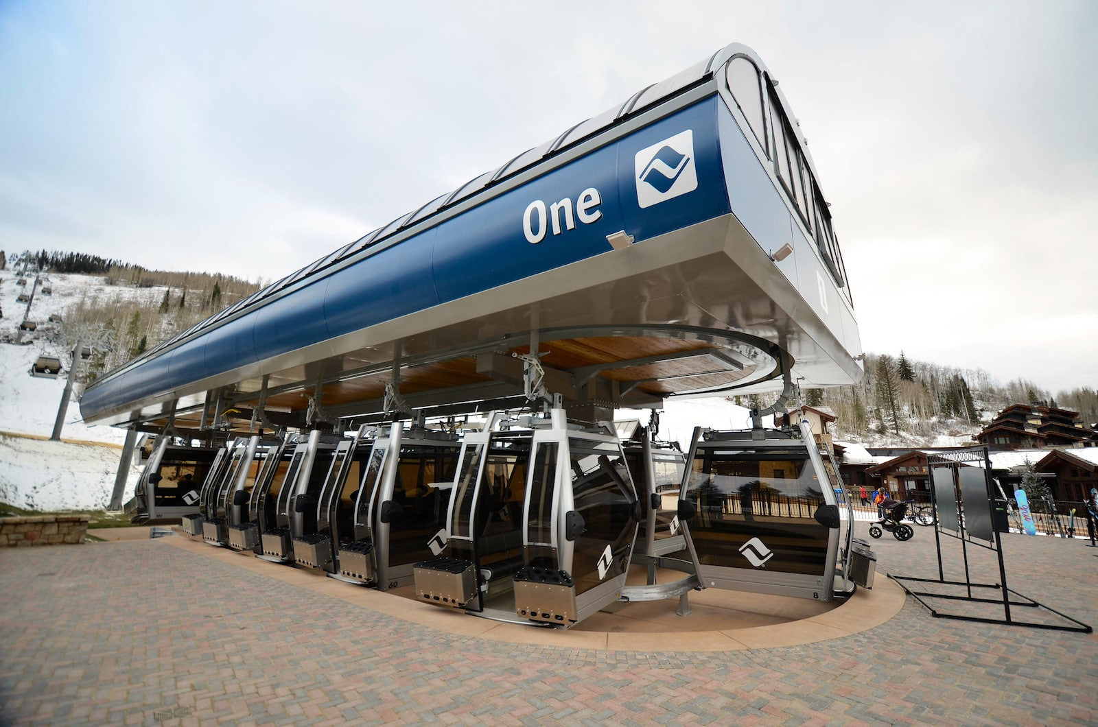 Image of the One Gondola base in Vail, Colorado