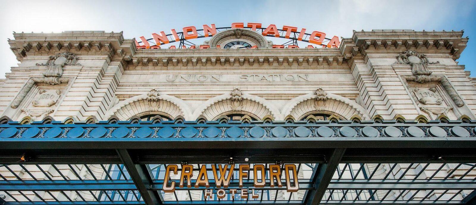 Image of the Crawford Hotel in Denver, Colorado