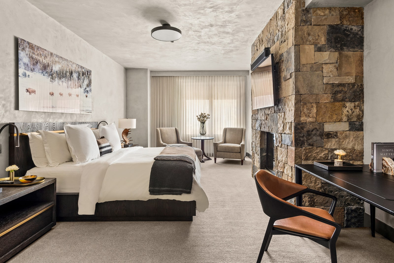 Image of a room at the Four Seasons Resort Vail in Colorado