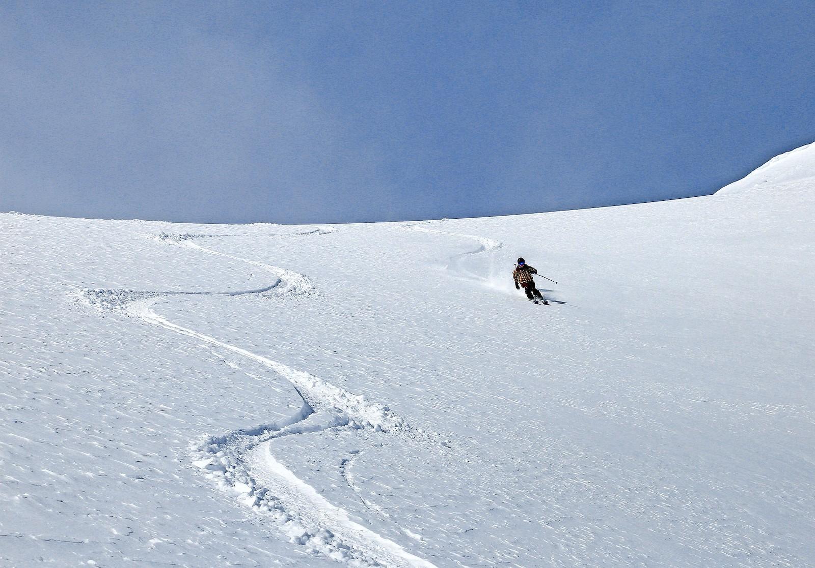 Gambar ski Jones Pass di Colorado