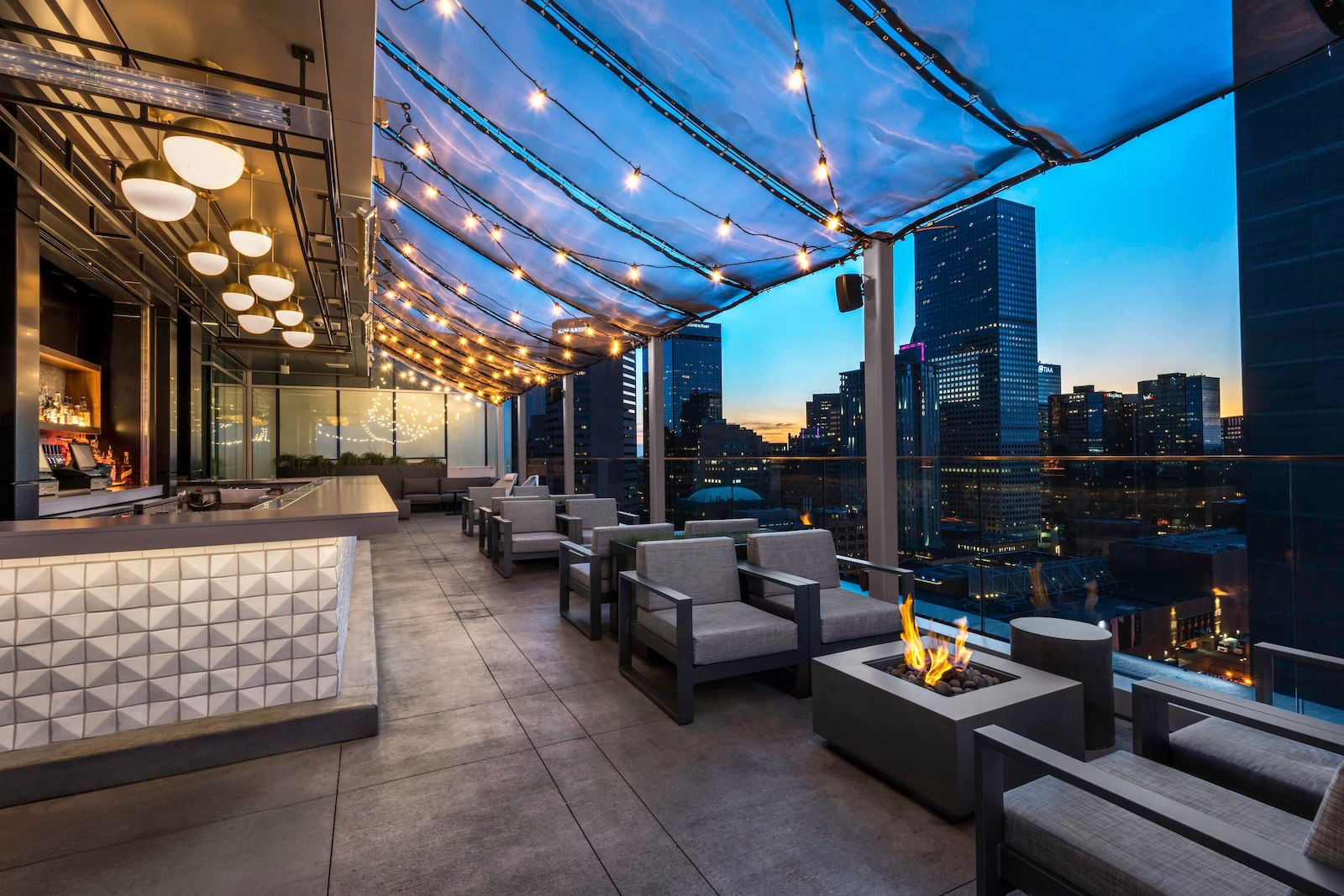Image of 54thirty Rooftop bar at Le Meridien in Denver, Colorado