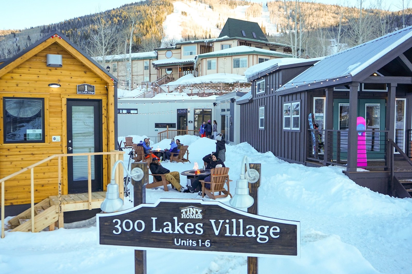 Image of 300 Lakes Village at the base camp of Powederhorn Resort