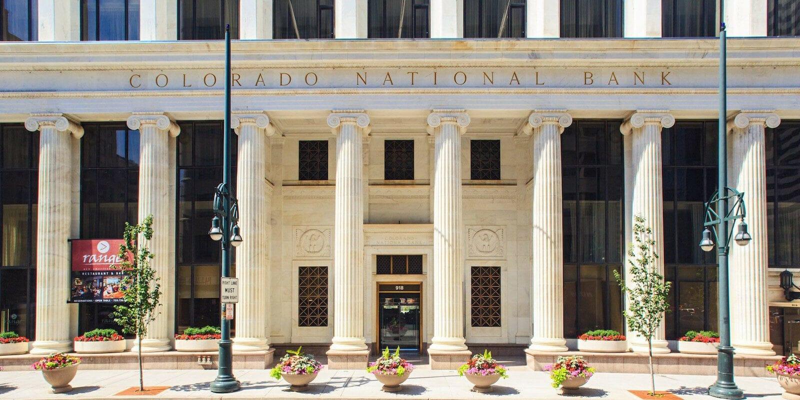 Image of the Colorado National Bank home to the Renaissance Denver Downtown City Center Hote