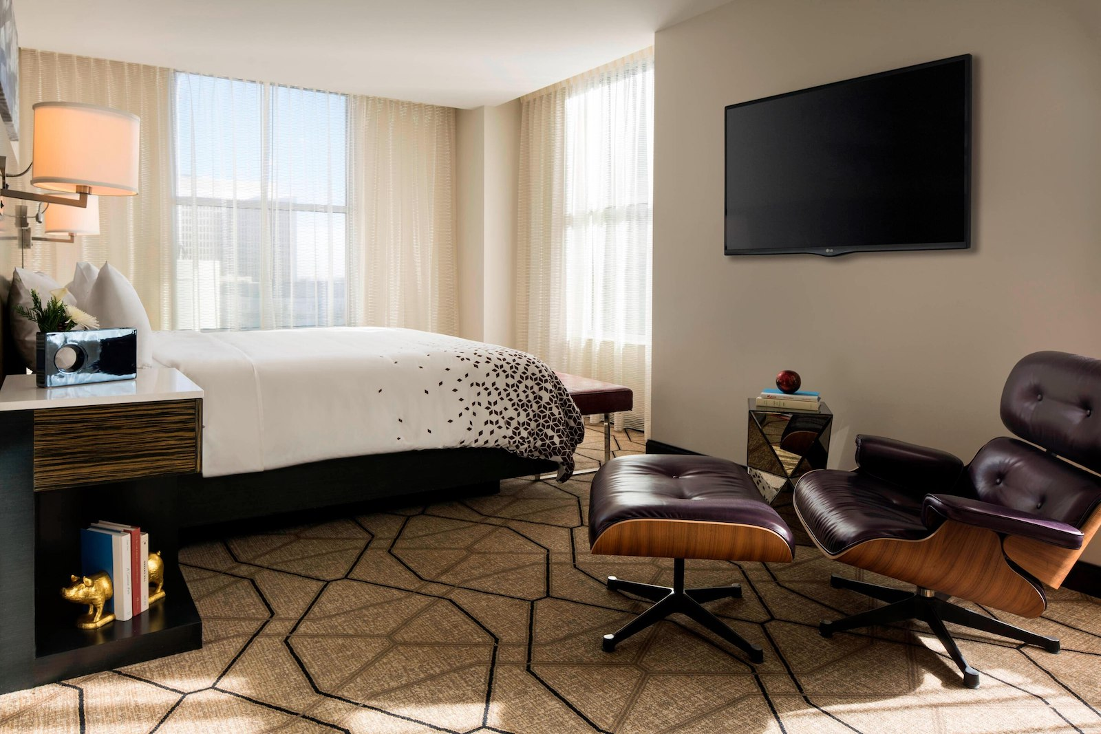 Image of a luxury one bedroom at Renaissance Denver Downtown City Center Hotel in Colorado