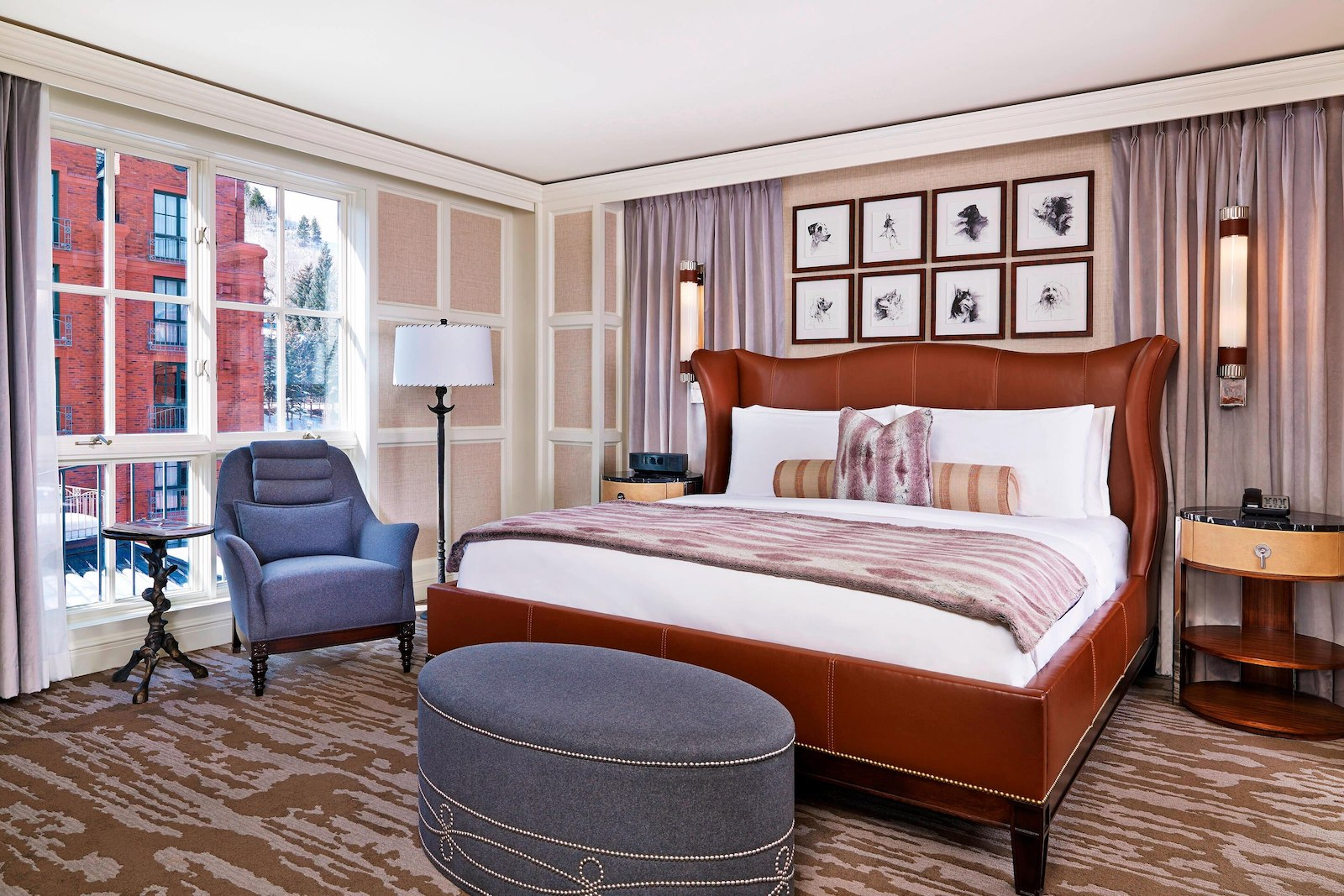 Image of a one bedroom suite at the St. Regis in Aspen, Colorado