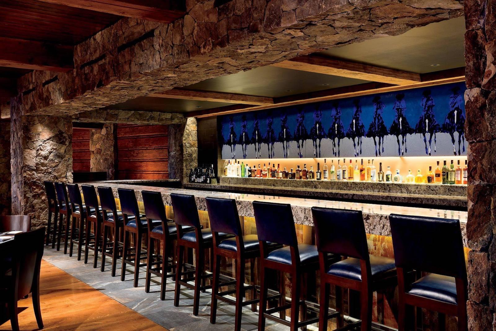 Image of a bar at The Ritz Carlton, Bachelor Gulch in Avon, Colorado